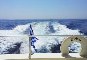 A bordo dell'Eviva