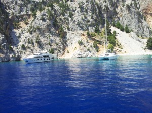 Baie isolate a Symi