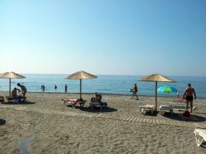 Spiaggia a Lardos