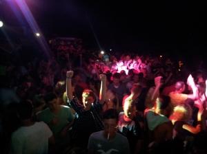 Il successo del Beach Party