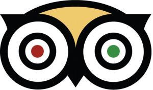 Il noto logo di Trip Advisor