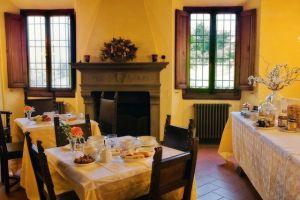sala colazione a Villa Murray