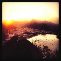 Tramonto a Rio de Janeiro