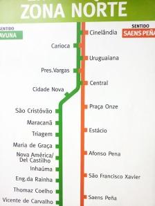 Percorso della Metro