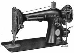 La classica Singer da cucire