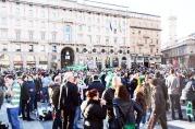 Tifosi ospiti al Duomo